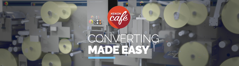 Xeikon Café will show you the efficient production of multi-layer and self-adhesive labels with GM's advanced finishing solutions