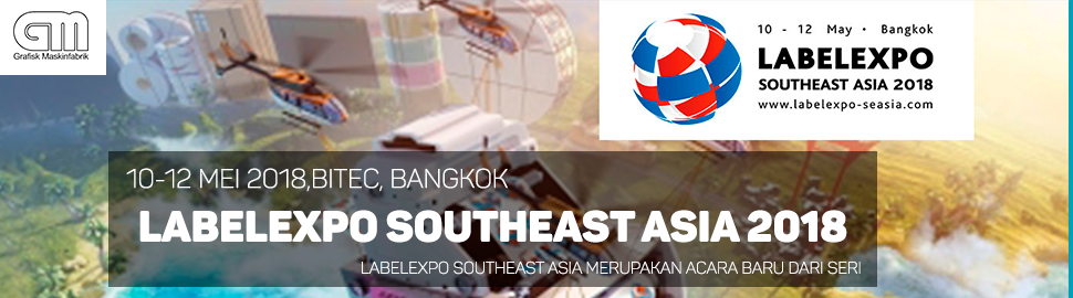 GM at Labelexpo Southeast Asia 2018