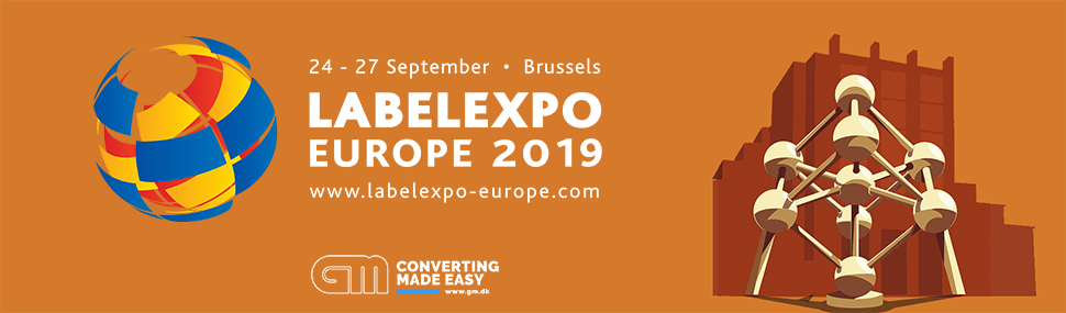 GM at Labelexpo Europe 2019 in Brussels