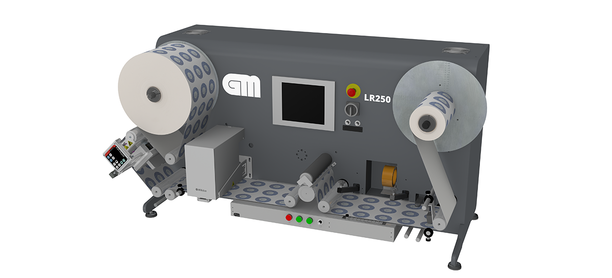 Introducing the NEW LR250 Label Inspection Rewinder